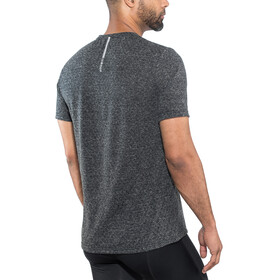 Odlo BL Millennium Linencoo Camiseta Running Hombre, black melange